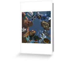Circle Of Friends: Did I pass out? Greeting Card