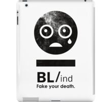 Welcome to the sad parade. iPad Case/Skin