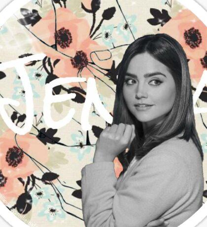 Jenna Coleman Sticker