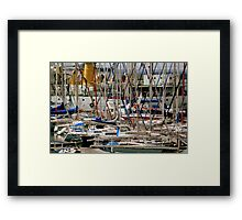Cape Town Dock Framed Print