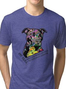 Pitbull BSL Black Tri-blend T-Shirt