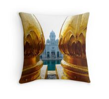 Sona :: Golden & Beautiful* Throw Pillow