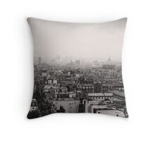PARIS 21 Throw Pillow