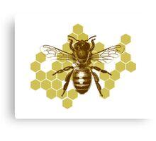 Bumble Hive Canvas Print