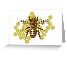 Bumble Hive Greeting Card