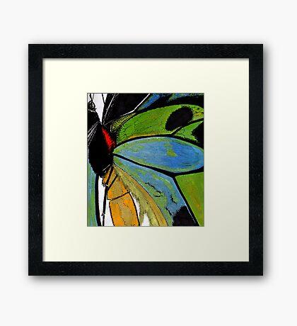 paper butterfly Framed Print