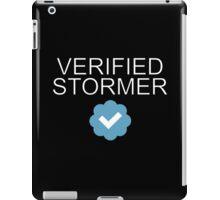 Verified Stormer Alert iPad Case/Skin