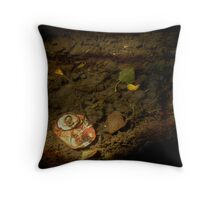 Urban Nature Throw Pillow