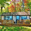 The Wee Cottage ~ Lake Ontario Autumn by artwhiz47