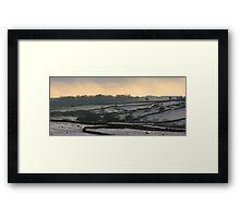 Winter in Wensleydale. Framed Print