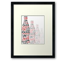The Coke Project Framed Print