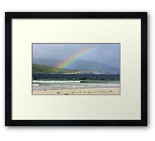 It's getting Brighter Framed Print