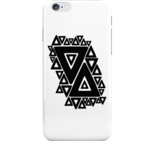 These little triangles define you, forever. iPhone Case/Skin
