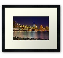 Colourful New York Framed Print