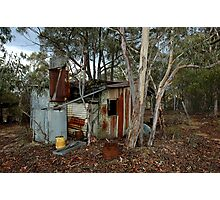 miners hut on Airley Turret Photographic Print