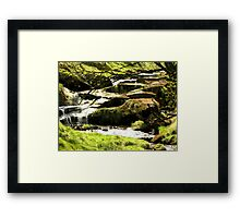 The Beck in Stone Quarry Wood Framed Print