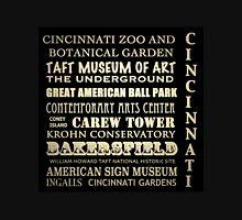 Cincinnati Ohio Famous Landmarks Unisex T-Shirt