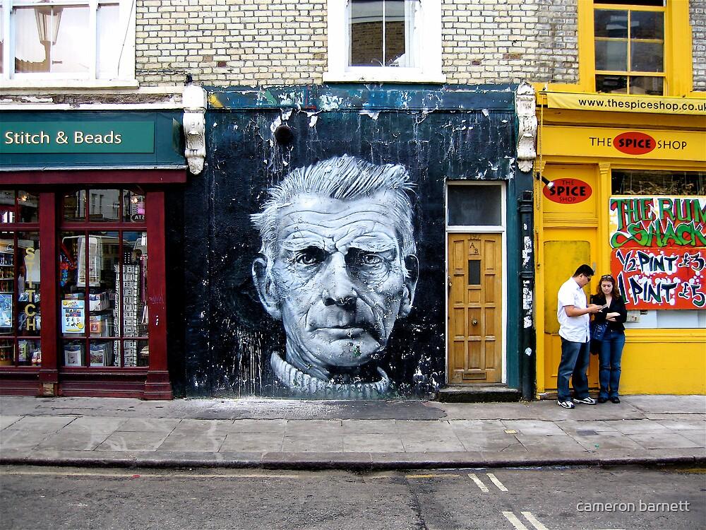 Samuel Beckett by cameron barnett