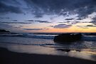 Early Morning in Sango Bay  by Lindamell