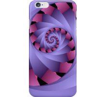 Swirl in pink and purple iPhone Case/Skin