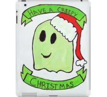 Creepy Chirstma  iPad Case/Skin