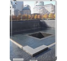 9/11 Memorial and Park, Lower Manhattan, New York City iPad Case/Skin