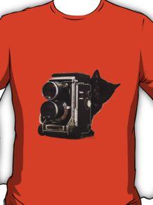 Feline Photographer T-Shirt