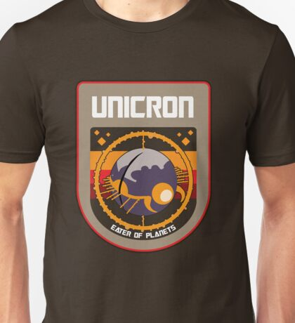 Unicron NASA Patch Unisex T-Shirt