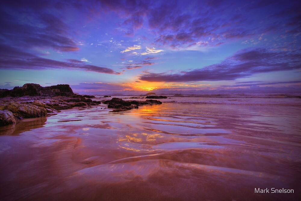 Emerald Beach Sunrise 1 by Mark Snelson