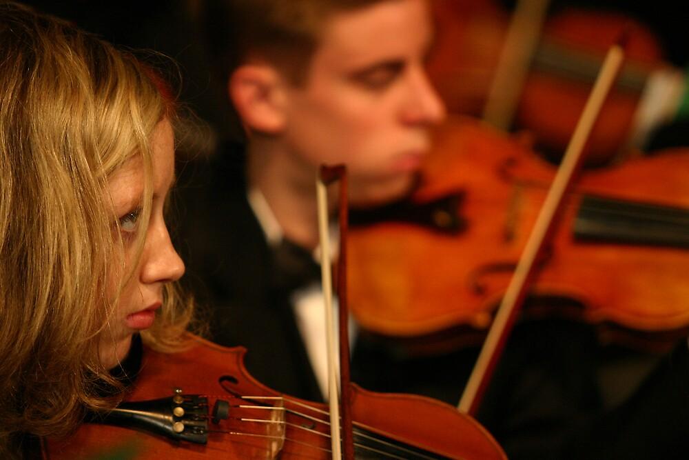 Two Fiddles by Belinda  Strodder