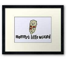 Mommy's Little Wizard Framed Print
