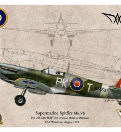 Supermarine Spitfire Mk.Vb Sticker
