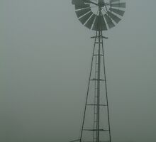 Windmill ,Macendon Ranges by Joe Mortelliti