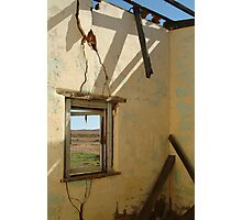 Ruin Old Ghan Railway,Oodnadatta Track Photographic Print