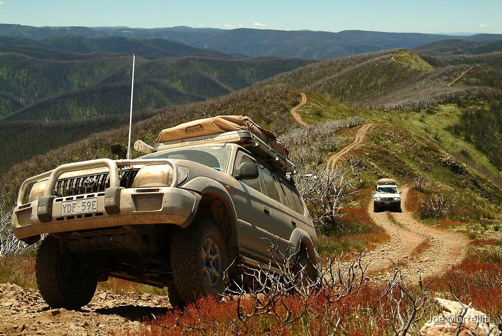 Mountain Driving, Blue Rag Range by Joe Mortelliti