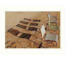 Outdoor Theatre Outback Tibooburra Art Print