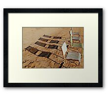 Outdoor Theatre Outback Tibooburra Framed Print