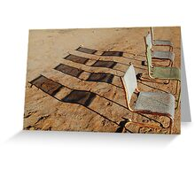 Outdoor Theatre Outback Tibooburra Greeting Card