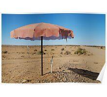Shady Spot Oodnadatta Track Outback Australia Poster