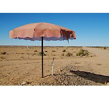 Shady Spot Oodnadatta Track Outback Australia Photographic Print