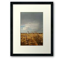 Passing Rain,Geelong District Framed Print