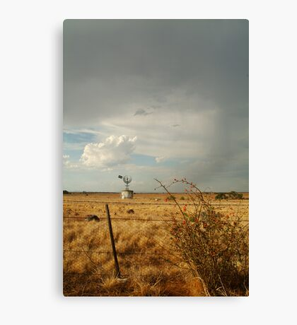 Passing Rain,Geelong District Canvas Print