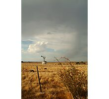 Passing Rain,Geelong District Photographic Print