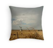 Passing Rain,Geelong District Throw Pillow