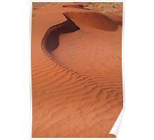 Sand Hill, Simpson Desert,N.T. Poster