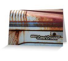 LandCruiser Greeting Card