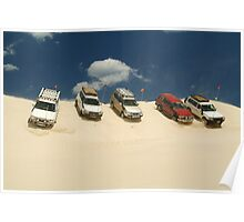Dune Drivers,Robe Beach District South Australia Poster