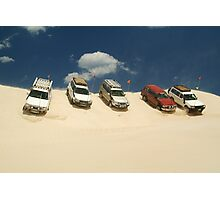 Dune Drivers,Robe Beach District South Australia Photographic Print
