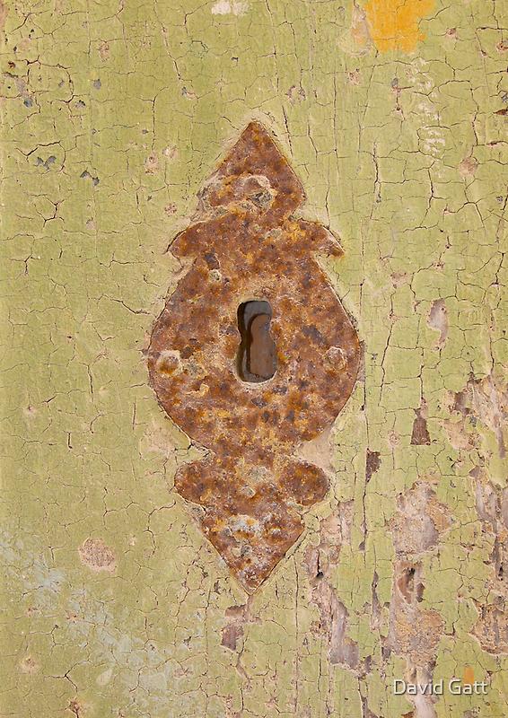 Fleur-de-lis Keyhole: Mdina Malta by David Gatt