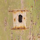 Square Keyhole: Mdina Malta by David Gatt